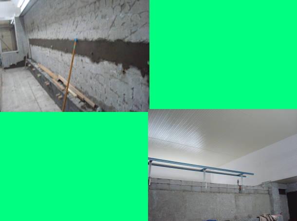 天井と片側のシャワー・カラン部分